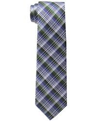 Ben Sherman Kumo Plaid Skinny Tie