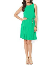 Lauren Ralph Lauren Dress Sleeveless Pleated