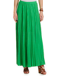 Pleated maxi skirt medium 236294