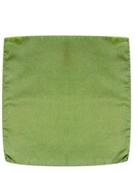 Solid silk pocket square medium 11096