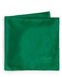 Solid silk pocket square medium 572874