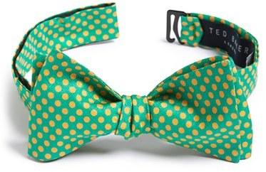 4819861ac3c5d7 ... Ted Baker London Mini Dot Silk Bow Tie ...