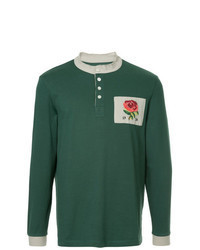 Green Polo Neck Sweater