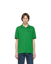 Comme des Garcons Homme Deux Green Fred Perry Edition Pique Polo