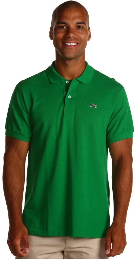 74f55c5260 ... Lacoste L1212 Classic Pique Polo Shirt Short Sleeve Knit ...
