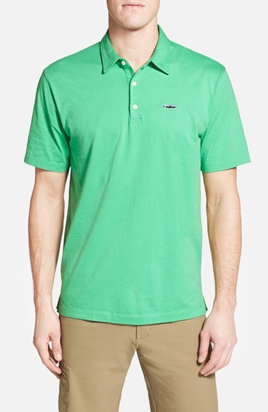 3f4c4892 Patagonia Trout Fitz Roy Organic Cotton Polo, $59 | Nordstrom ...