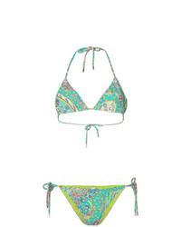 Etro Mixed Floral Print Bikini