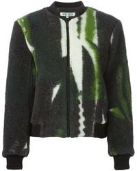 Kenzo Fuzzy Bomber Jacket