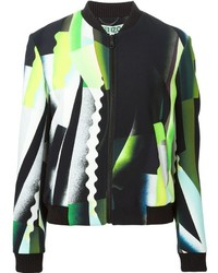 Kenzo Spray Collage Bomber Jacket