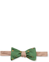 Brooks Brothers Houndstooth Reversible Bow Tie