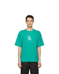 Acne Studios Blue Dizonord Edition Coral Infantil T Shirt