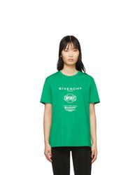 Givenchy Green Spirit T Shirt