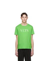 Valentino Green Vltn T Shirt