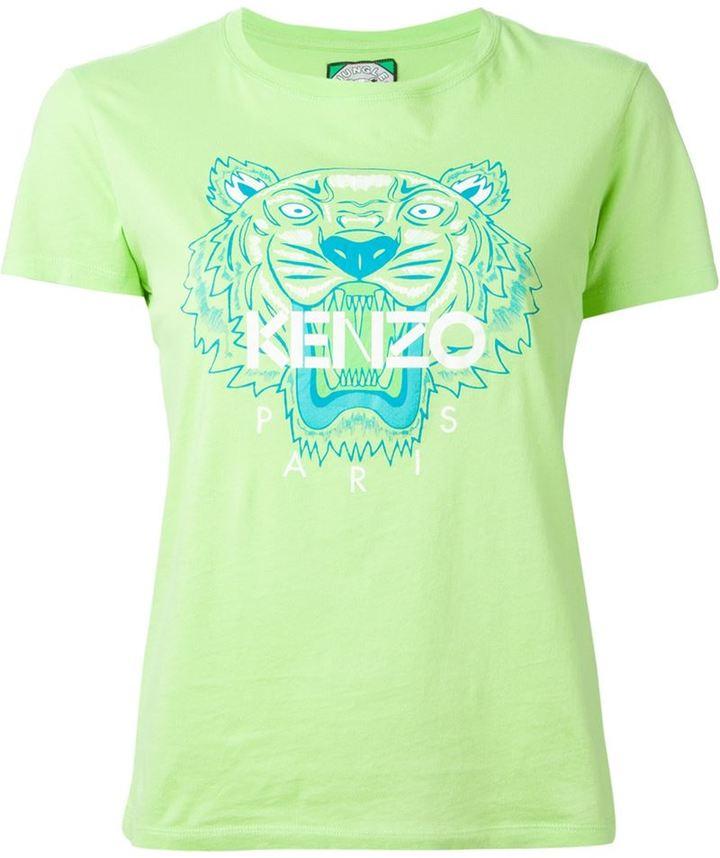 f5825f79 Kenzo Tiger T Shirt, $91 | farfetch.com | Lookastic.com