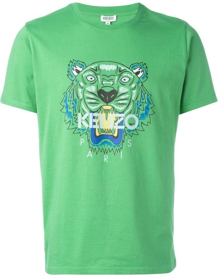 4121a5e6 Kenzo Tiger T Shirt, $123 | farfetch.com | Lookastic.com