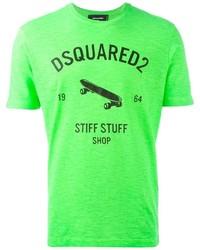 DSQUARED2 Skate Print T Shirt