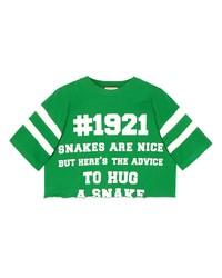 Gucci To Hug A Snake Cropped T Shirt