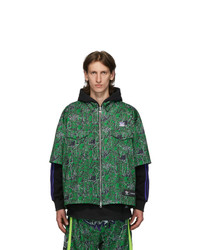 Sankuanz Black And Green Adidas Originals Edition Shirt Hoodie