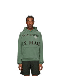 Reese Cooper®  Green Domestic Mail Aged Hoodie