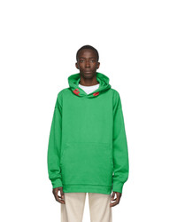 Acne Studios Green Monster In My Pocket Edition Werewolf Hoodie