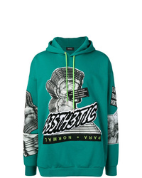 Diesel Hoodie With A3sth3tic Patch