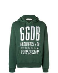 Golden Goose Deluxe Brand Script Printed Hoodie