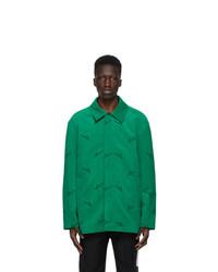 We11done Green Velvet Logo Shirt