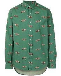 Polo Ralph Lauren Horse Print Button Down Shirt