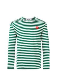 Green Print Long Sleeve T-Shirt