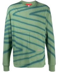 Eckhaus Latta Geometric Print Longsleeved T Shirt