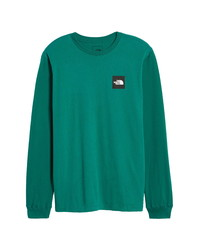 The North Face Red Box Long Sleeve Graphic Tee