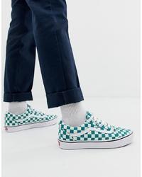 Men's Green Sneakers from Asos Herrmode     Gröna sneakers för herrar från Asos   title=         Herrmode