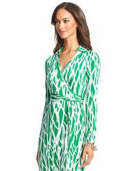 041ffd4a795 ... Diane von Furstenberg Heritage New Jeanne Two Long Maxi Silk Jersey Wrap  Dress