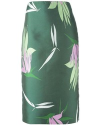 Marni flower print pencil skirt medium 216590