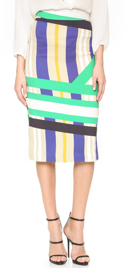 msgm print pencil skirt where to buy how to wear
