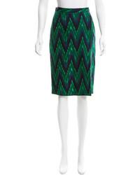 Rachel Comey Printed Silk Skirt