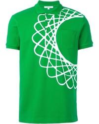 Carven Circle Print Polo Shirt