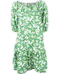 P.A.R.O.S.H. Bird Print Dress