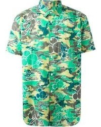 Comme des Garcons Comme Des Garons Shirt Mickey Mouse Print Shirt