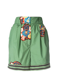 Philosophy di Lorenzo Serafini Printed Detail High Waisted Shorts