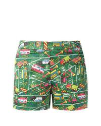 Transport print shorts medium 7587127