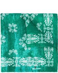 Kiton bandana print pocket square medium 612143