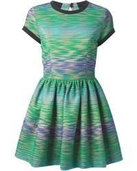 MSGM Woven Skater Dress