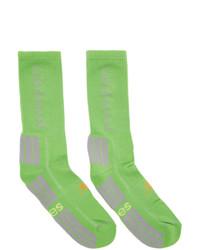 Aries Green New Balance Edition Unbalanced Socks