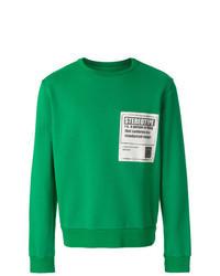 Green Print Sweatshirt
