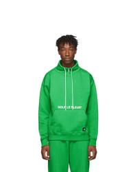 Converse Green Golf Le Fleur Edition Quarter Zip Pullover Sweatshirt