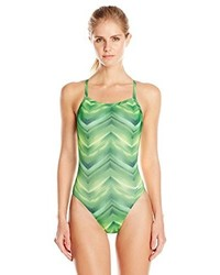 Speedo Pulse Flyback Performance One Piece Swimsuit