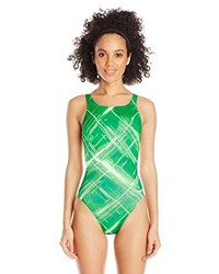 Speedo Solar Strobe Recordbreaker Performance One Piece Swimsuit