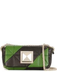 Sonia rykiel striped quilted cross body bag medium 962170