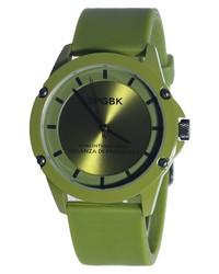 SPGBK Watches Honeycutt Silicone Band Watch